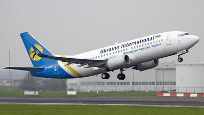 UR-GAQ - Boeing 737-33R - Ukraine International Airlines