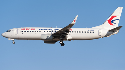 A picture of B1307 - Boeing 73789P - China Eastern Airlines - © HXD3D-0080