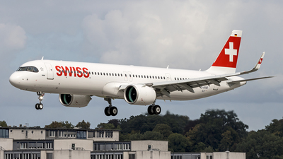 D-AYAO - Airbus A321-271NX - Swiss