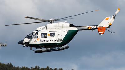 HU.22-09 - MBB BK117A-3 - Spain - Guardia Civil