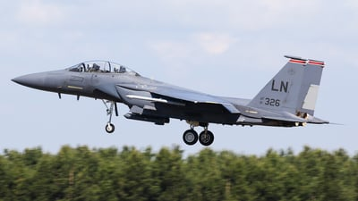 91-0326 - McDonnell Douglas F-15E Strike Eagle - United States - US Air Force (USAF)