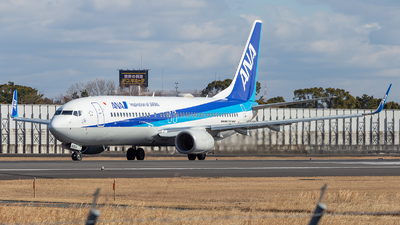 A picture of JA88AN - Boeing 7378AL - All Nippon Airways - © LUSU