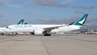 A picture of BLRS - Airbus A350941 - Cathay Pacific - © JK Photography