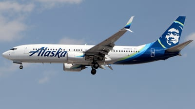 N593AS - Boeing 737-890 - Alaska Airlines