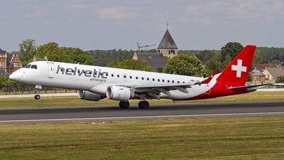 A picture of HBJVL - Embraer E190LR - Helvetic Airways - © Manuel Llama - Benalmadena Spotters