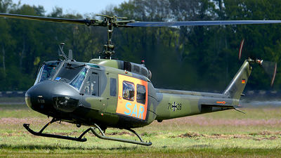 71-28 - Bell UH-1D Iroquois - Germany - Army
