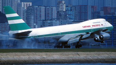 VR-HIC - Boeing 747-267B - Cathay Pacific Airways