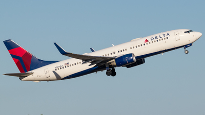 A picture of N389DA - Boeing 737832 - Delta Air Lines - © Positive Rate Photography