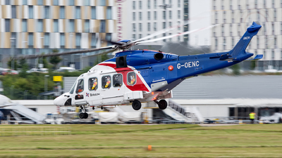 A picture of GOENC - Leonardo AW189 - Bristow Helicopters - © Kyle McKinlay
