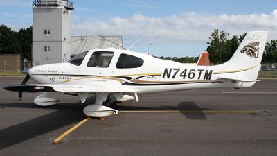 N746TM - Cirrus SR20 - Western Michigan University College of Aviation