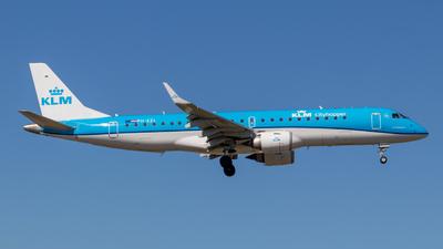 A picture of PHEZL - Embraer E190STD - KLM - © Daniel Filipe Pereira