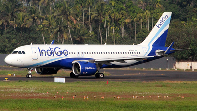 A picture of VTIVI - Airbus A320271N - IndiGo - ©  Rohit  Ramachandran