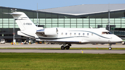 C-FBEM - Bombardier CL-600-2B16 Challenger 604 - Private