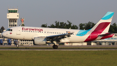 D-ABGS - Airbus A319-112 - Eurowings