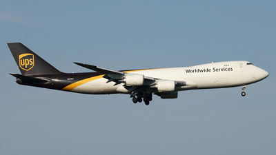 N606UP - Boeing 747-84AF - United Parcel Service (UPS)
