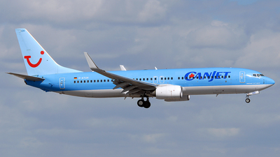 D-ATUH - Boeing 737-8K5 - CanJet Airlines (TUIfly)