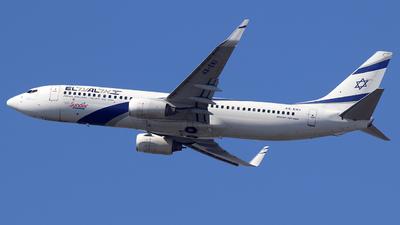 4X-EKI - Boeing 737-86N - El Al Israel Airlines