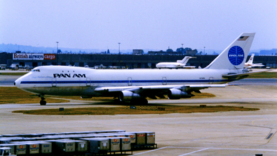 N734PA - Boeing 747-121 - Pan Am