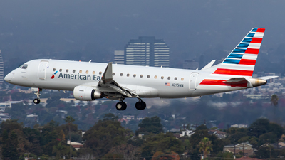 A picture of N215NN - Embraer E175LR - American Airlines - © AirPilot_Photography