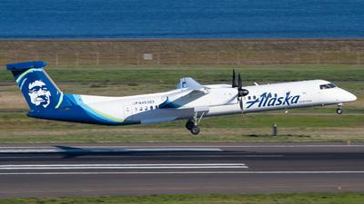 A picture of N453QX - De Havilland Canada Dash 8400 - Alaska Airlines - © Owen Peters