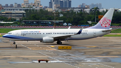 B-18610 - Boeing 737-809 - China Airlines