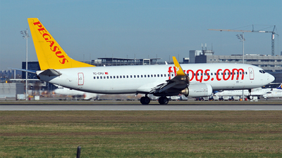 TC-CPU - Boeing 737-86N - Pegasus Airlines