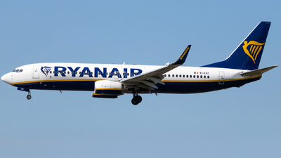 A picture of EIEKC - Boeing 7378AS - Ryanair - © James Dinsdale