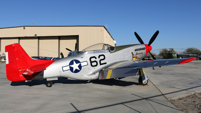 N151BP - North American P-51D Mustang - Palm Springs Air Museum