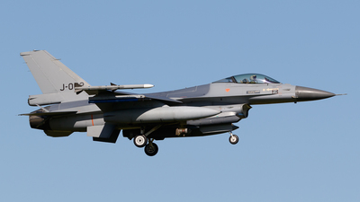 J-002 - General Dynamics F-16AM Fighting Falcon - Netherlands - Royal Air Force