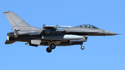 87-0362 - Lockheed Martin F-16C Fighting Falcon - United States - US Air Force (USAF)