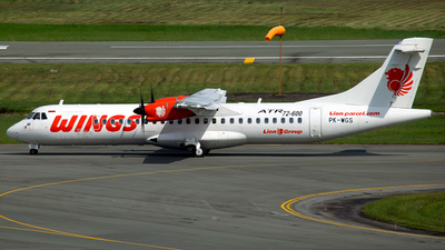 PK-WGS - ATR 72-212A(600) - Wings Air