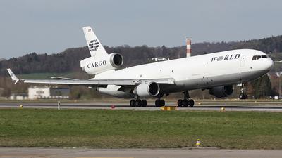 N381WA - McDonnell Douglas MD-11(F) - World Airways Cargo