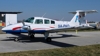 9A-PAD - Beechcraft 76 Duchess - Private