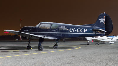 LY-CCP - Yakovlev Yak-18T - Private