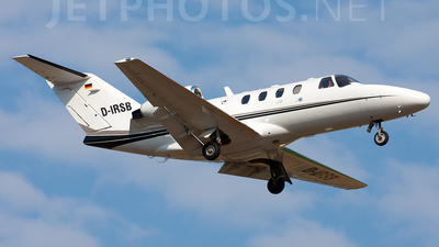 D-IRSB - Cessna 525 CitationJet 1 - Private