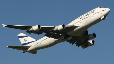 4X-ELE - Boeing 747-412 - El Al Israel Airlines
