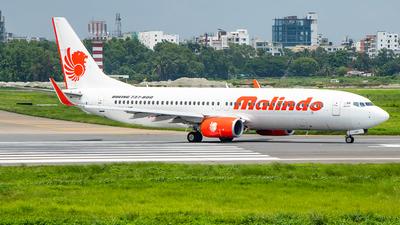 9M-LNT - Boeing 737-8GP - Malindo Air