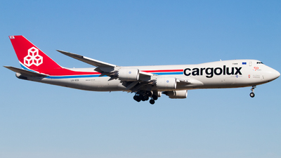 A picture of LXVCG - Boeing 7478R7(F) - Cargolux - © DreamRiser