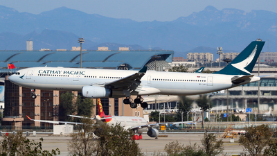 A picture of BLAP - Airbus A330343 - Cathay Pacific - © yiran