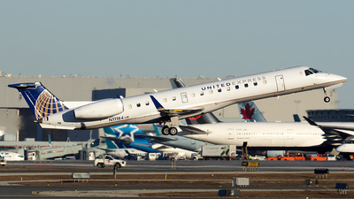 A picture of N11184 - Embraer ERJ145XR - United Airlines - © Tianyi Liu