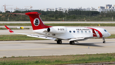 A picture of B3276 - Gulfstream G650ER - Shanghai Airlines - © ceci wong