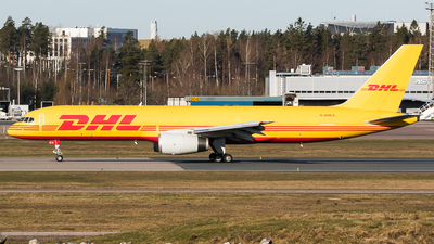 A picture of GDHKX - Boeing 75723APF - DHL - © Teemu Pesonen