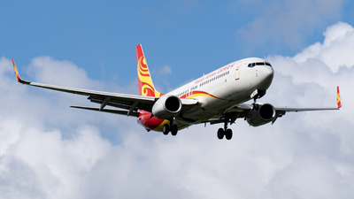 A picture of B1373 - Boeing 73784P - Hainan Airlines - © KirkXWB