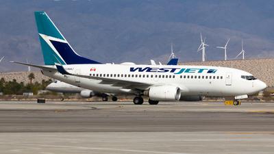 A picture of CGWAZ - Boeing 7377CT - WestJet - © Sean Asay