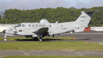 11-00289 - Beechcraft MC-12S Huron - United States - US Army
