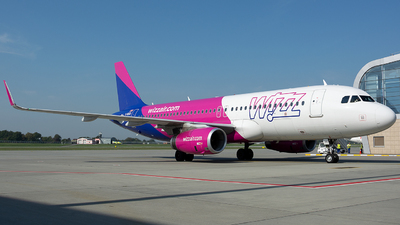 G-WUKD - Airbus A320-232 - Wizz Air UK