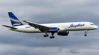 VQ-BPY - Boeing 757-236(SF) - Yakutia Airlines Cargo