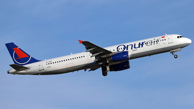 TC-OBZ - Airbus A321-231 - Onur Air