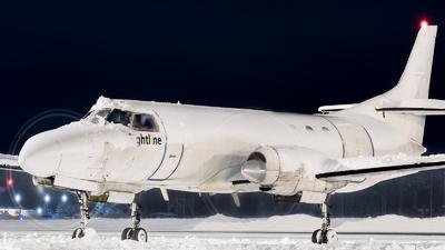 A picture of ECGXJ - Fairchild Swearingen Metroliner - Flightline - © Mikael nyman