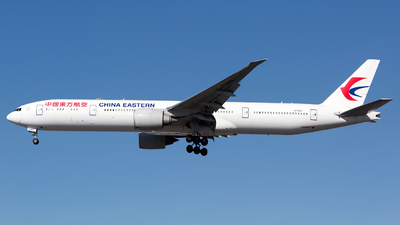 B-7343 - Boeing 777-39PER - China Eastern Airlines
